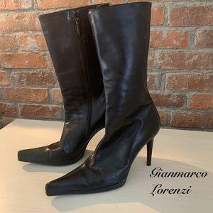 Gianmarco Lorenzi Mid-calf Boots Size 37.5 (7.5)